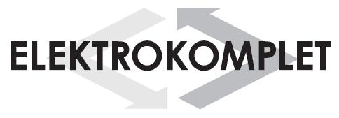 Elektrokomplet.cz – elektroinstalace pro váš rodinný dům Logo