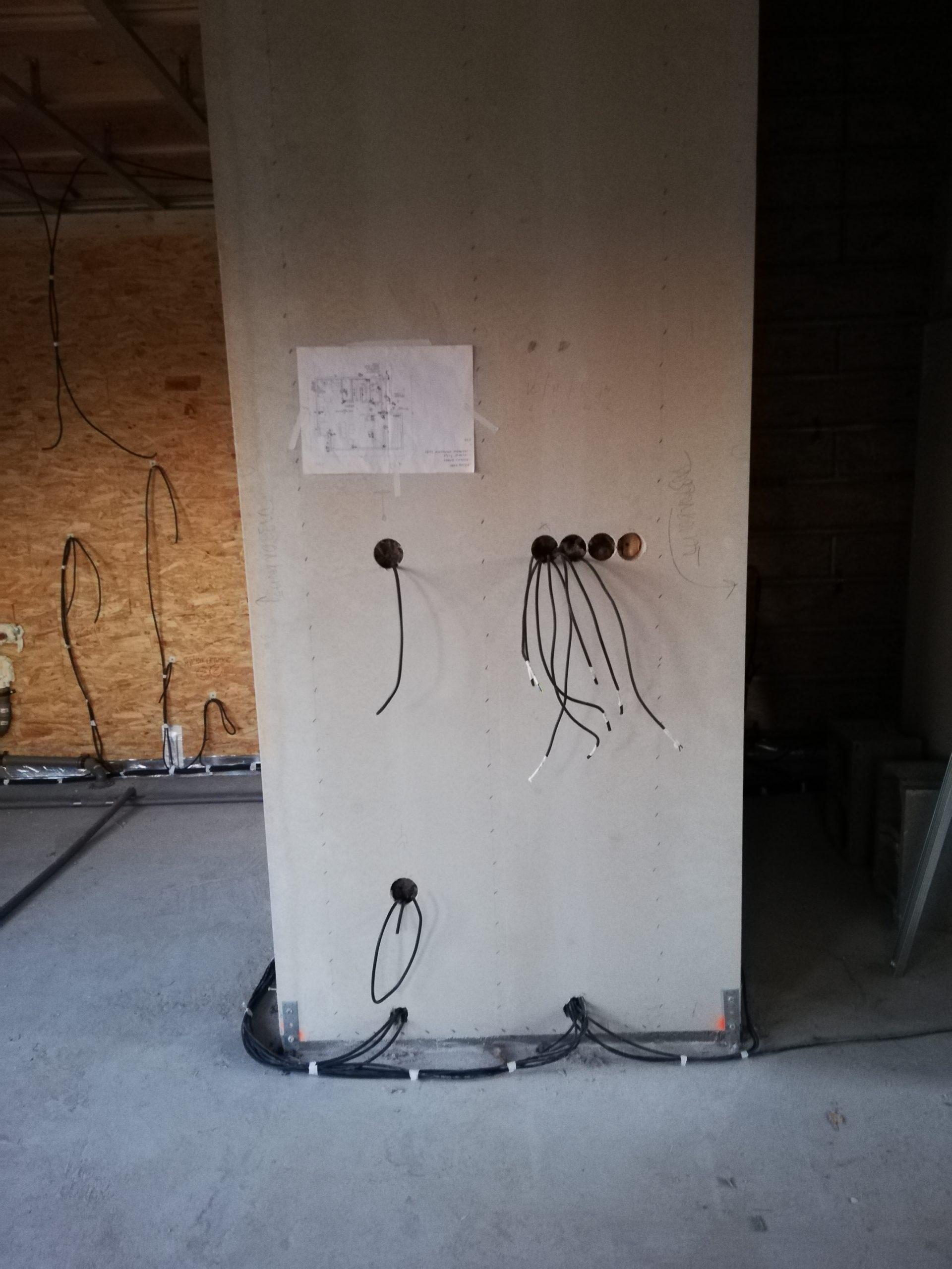 Elektroinstalace dřevostavba